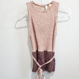 Anthropologie sparkle tank blouse